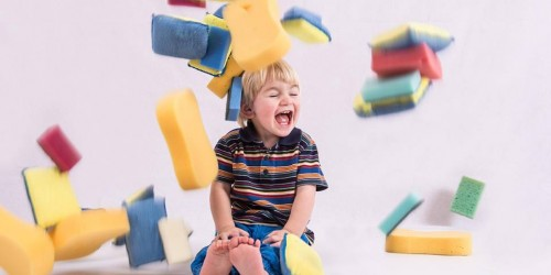 Early Years Sponge Play at  Pen Green Centre for Children & their Families