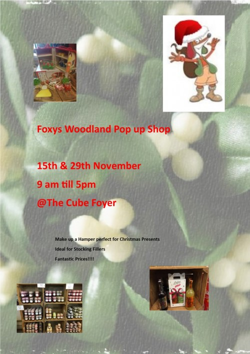 Christmas Pop up Shops