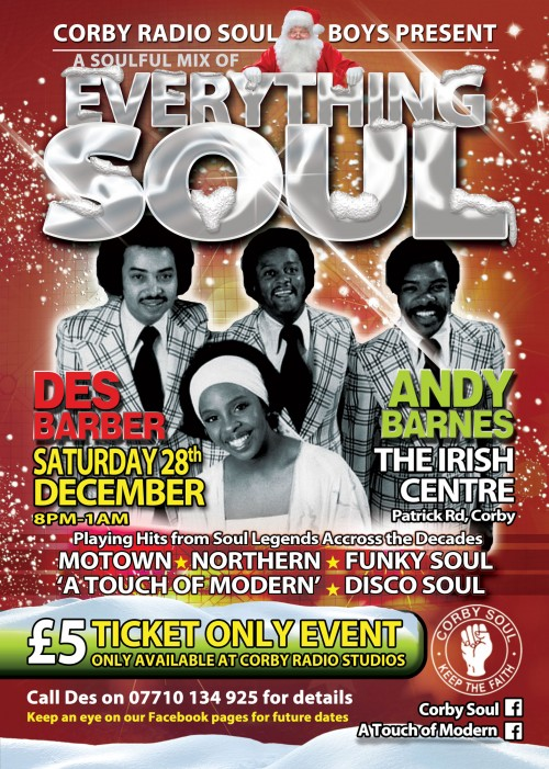 Everything Soul - Christmas at The Irish Centre