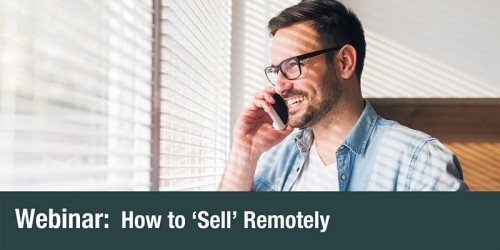 SEMLEP Webinar: How to 'Sell' remotely