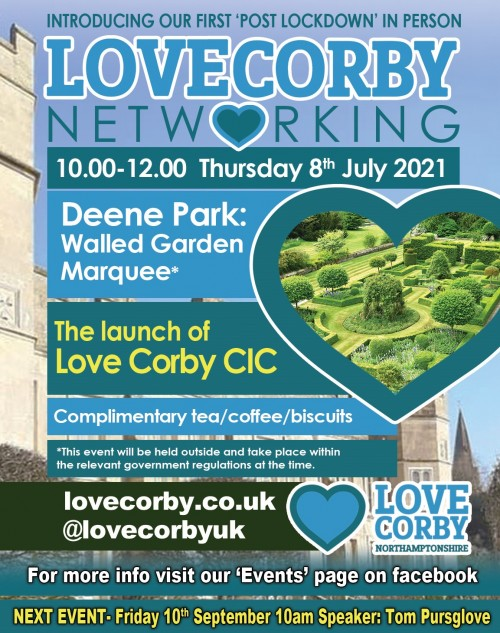 Love Corby July Networking Meeting