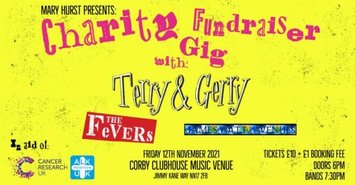 F**k Cancer! Charity fundraiser with Terry & Gerry Plus Support